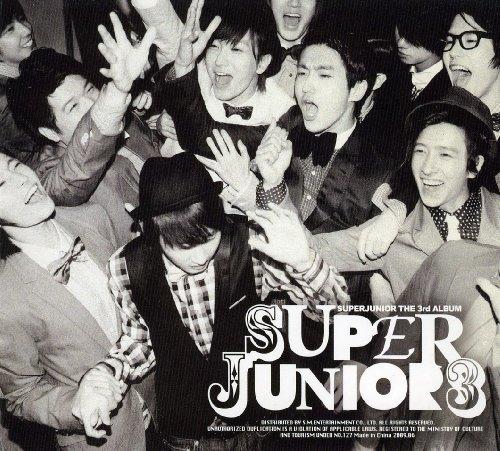 DOWNLOAD LINK] [AUDIO / SCAN PHOTOBOOK] Super Junior 3rd Album
